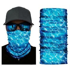 Microfiber Neck Warmer Sushi and Rolls Neck Gaiter Tube Ear Warmer Headband Scarf Face Mask Balaclava Black