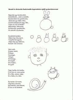 beolvas%C3%A1s0001.gif (1163×1600) Drawing School, Stories For Kids, Preschool Activities, Kids And Parenting, Kindergarten, Homeschool, Poems, Crafts For Kids, Teaching
