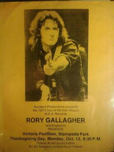 Rory in Concert