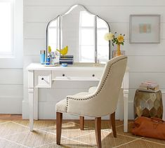 Maisie Vanity Mirror | Pottery Barn