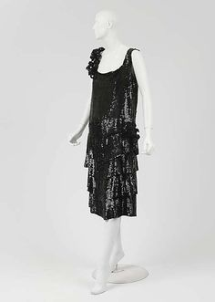 "Evening dress | House of Chanel (French, founded 1913) | Designer: Gabrielle ""Coco"" Chanel (French, Saumur 1883–1971 Paris) 