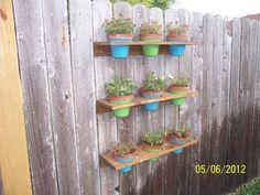 Easy Flower Pot Holders