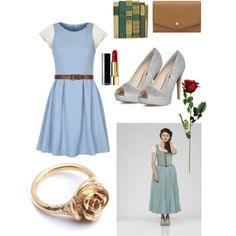 belle (OUAT) style