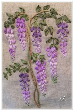 Wonderful Ribbon Embroidery Flowers by Hand Ideas. Enchanting Ribbon Embroidery Flowers by Hand Ideas. Embroidery Designs, Ribbon Embroidery Tutorial, Rose Embroidery, Embroidery Patterns Free, Silk Ribbon Embroidery, Embroidery Stitches, Embroidery Supplies, Embroidery Tattoo, Embroidery Saree