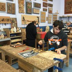Técnicas escultóricas en madera #sculpture #woodworking #técnicasescultóricas #EASDzamora #ciclosformativosgradosuperior