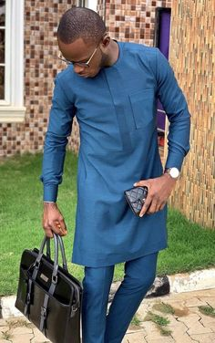 African Wear Styles For Men, African Shirts For Men, African Attire For Men, African Clothing For Men, African Style, Latest African Fashion Dresses, African Men Fashion, Nigerian Fashion, Mens Fashion
