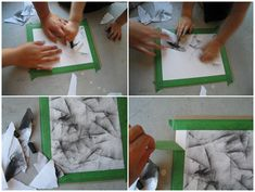Charcoal Drawing Technique A simple but beautiful charcoal technique for even the youngest artist - Art Lessons For Kids, Art Lessons Elementary, Art For Kids, Kindergarten Art, Preschool Art, Charcoal Art, Charcoal Drawings, Drawing Lessons, Drawing Techniques