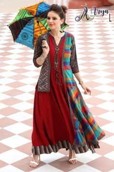 aryadress,maharani gown,designfull gown,fancy woman gown | Arya Dress Maker Kurti Pakistani, Anarkali, Lehenga, Latest Kurti, Printed Gowns, Kurti Collection, Western Wear For Women, Whatsapp Messenger, Designer Gowns