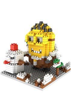Gem Brick Mini Blocks Minions Artic