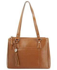 6070db44114 Tignanello Handbag, Sophisticate Leather Shopper! get it at macy s while  it s still available -