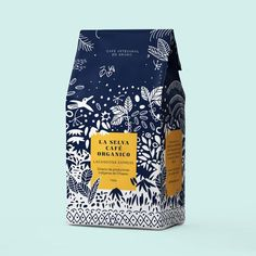 La Selva Café on Packaging of the World - Creative Package Design Gallery Food Packaging Design, Coffee Packaging, Coffee Branding, Packaging Design Inspiration, Brand Packaging, Product Packaging Design, Rice Packaging, Chocolate Packaging, Beverage Packaging