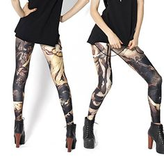 Original-Design estress Tattoo Leggings Galaxy Sterne Print Style Comic Destroy Graffiti Muster Galaxy DDK10512