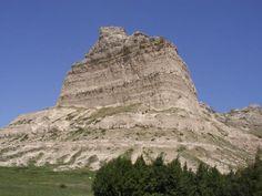 Scotts Bluff National Monument - Nebraska.  A little place called home.