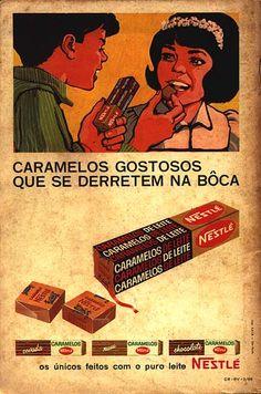 anúncio Caramelos