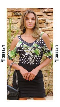 New fashion style spring moda ideas Spring Dresses Casual, Casual Outfits, Fashion Outfits, Trendy Fashion, Womens Fashion, Blouse Dress, Blouse Styles, Clothes, Spring Summer