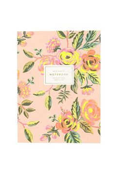 Gift Item-Jardin de Paris Notebook