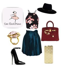 """""""Sleek and put together"""" by hvbrissman ❤ liked on Polyvore featuring Hermès, Zimmermann and Sonix"""