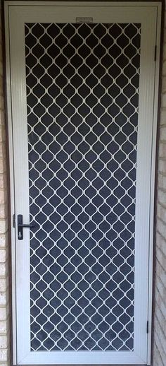 security screen doors | Security screen door I love this!