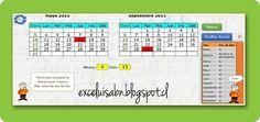 ExceLuisABN Matemática y Excel: Calcula el período entre dos fechas, versión 1.2.