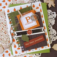 Card by design team member Kathy Martin with our Free Fallin' kit