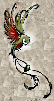 Bird tattoo maybe cover up tat?