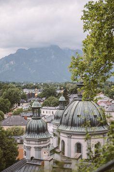 Views of Nonntal Salzburg Unique Hotels, Beautiful Hotels, Horse Carriage Rides, Austria Travel, Rooftop Terrace, Salzburg, Great View, Luxury Travel, Taj Mahal