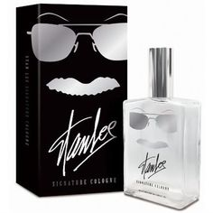 This is hilarious. Love the brows, glasses and 'stache to represent Stan Lee. Stan Lee Cologne.