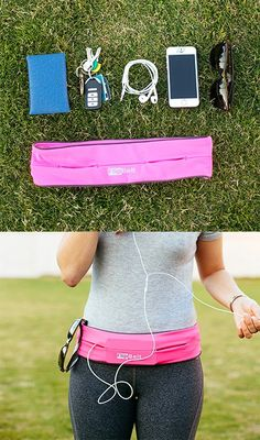 Flip Belt ~ conveniently holds your belongings while you workout. It's no Fanny pack Fitness Tips, Fitness Motivation, Health Fitness, Fitness Wear, Motivation Quotes, Best Running Belt, Running Gear, Flip Belt, Workout Belt