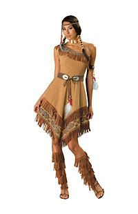 Pocahontas Costumes | Indian Halloween Costume for Adults and Kids