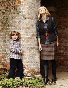 British Tweed Kilt- Boden. Why didn't I order this?