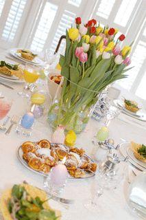 Table Setting for Easter Brunch