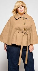 plus size coats for women   Alice the Camel   .