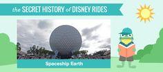 Epcot's Spaceship Earth fun facts.