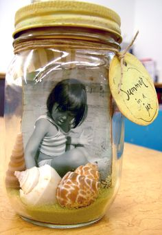 Memory Jar. rather than placing sand on the interior, as not all memories are from a beachy setting, rice or lentils, raw spices, craft stuffing, pulled apart cotton balls, or stylized pipecleaners could also be used.