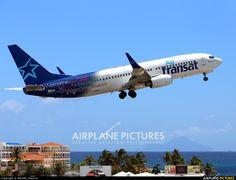 Air Transat F-GZHA aircraft at Sint Maarten - Princess Juliana Int photo