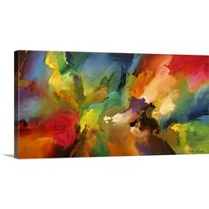 """Found it at Wayfair - """"Cosmic Voyage 187"""" by Jonas Gerard Painting Print on Wrapped Canvas"""