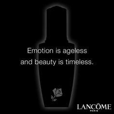 """Emotion is ageless and beauty is timeless"" #LittleBlackBottle #Inspiration"