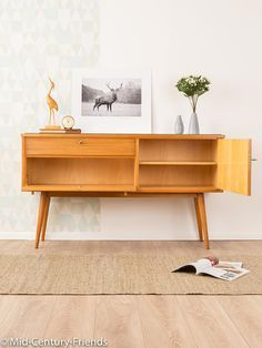 Lovely sideboard 50s chest of drawers vintage 60's