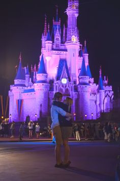 Lydia Jane Photography || Kristen and Caleb Engaged (Disney World, Florida).