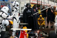 The Star Wars Red Bull F1 Promotion