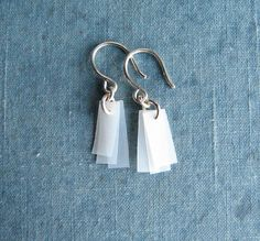 ECO FRIENDLY Recycled Earrings UpCycled Recycled Jewelry