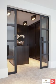 Have a spare room you're not using at home? Why not turn it into the walk-in closet you've always wanted? Check out these closet ideas to create a custom dressing room at home! Walk In Closet Design, Bedroom Closet Design, Closet Designs, Internal Bifold Doors White, Dressing Room Design, Ikea Dressing Room, Interior Barn Doors, Spare Room, Home Interior Design