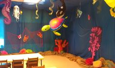 Ocean View: Weird Animal VBS Decoration Ideas