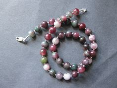 Tourmaline necklace.
