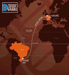 #voile #TJV2015 Transat Jacques Vabre 2015 : Départ du Havre pour une arrivée à Itajaí Départ de la 12e édition dimanche 25 octobre pour les Class40, Multi50, IMOCA et Ultime >>> http://seasailsurf.com/seasailsurf/actu/8928-Transat-Jacques-Vabre-2015-Depart-du-Havre-pour