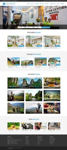 Dự án website Biso đã thiết kế - Biso.vn Hanoi, Hostel, Backpacking, Website, City, Backpacker, Cities, Travel Backpack