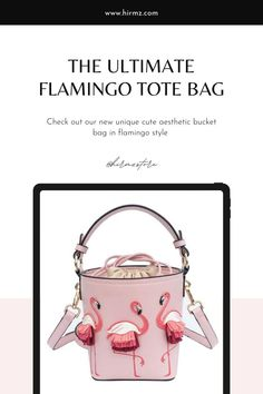 Gotomeer definitely our favorite aesthetic flamingo style crossbody purse with perfectly proportioned to carry all your essentials, this sweet and slouchy Gotomeer tote bag definitely can be your adorable fashion piece ready style that's sure to stand out from the crowd and add a charming with all the flamingos around. #pinkflamingopurse #flamingoideas #cuteflamingo #cutepurse #bucketbagstreetstyle #flamingobucketbag #flamingo Cute Crossbody Purses, Crossbody Clutch, Trendy Purses, Unique Purses, Flamingo Pattern, Summer Purses, Trendy Girl, Purse Styles, Bag Sale