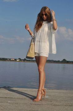Stylizacja White swan | Jagoda.me
