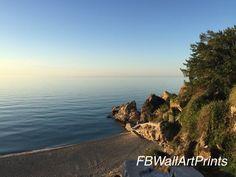 Beach Print, Clear Sky, Living Room Art, Beach Photography, Beach Photos, Coastal Decor, The Rock, Wall Art Decor, Printing