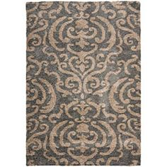 @Overstock.com - Ultimate Dark Grey Shag Rug (4' x 6') - This power-loomed shag rug offers luxurious comfort and unique styling with a raised high-low pile. High-density polypropylene pile features a grey background and provides one of the most plush feels available in a rug.    http://www.overstock.com/Home-Garden/Ultimate-Dark-Grey-Shag-Rug-4-x-6/5665240/product.html?CID=214117  $67.93